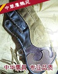 头层牛皮手套 全指 短款 适用苍鹰 猎隼 游隼等中大型猛禽