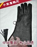 [左手长款 ] 进口鹰隼手套 适合金雕 苍鹰 游隼 猎隼大中型鹰隼